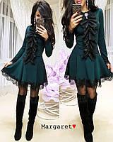 Платье с брошью М-8096, фото 1