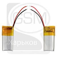 Аккумулятор (батарея) для китайских планшетов, телефонов, универсальный, 10 x 25 x 4.0 мм, 100 mAh, 3.7 V, Li-