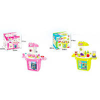 Детская игровая интерактивная кухня с посудой 922-21-25