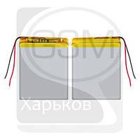 Аккумулятор (батарея) для китайских планшетов, телефонов, универсальный, 46 x 60 x 3.8 мм, 1100 mAh, 3.7 V, Li-ion