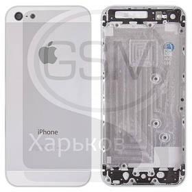 Корпус для APPLE iPHONE 5, белый, (качество AAA)
