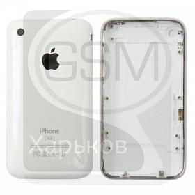 Корпус для APPLE iPHONE 3G 8 Гб, белый, (качество AAA)