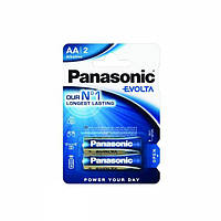 Батарейка Panasonic EVOLTA AAA BLI 2 ALKALINE (LR03EGE/2BP)