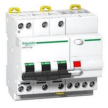 Диференціальний авт. вимикач Acti9 DPN N Vigi 3Р+N, 6 А, 30мА Schneider Electric