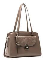 Модная сумка женская из натуральной кожи в 2х цветах L-16019