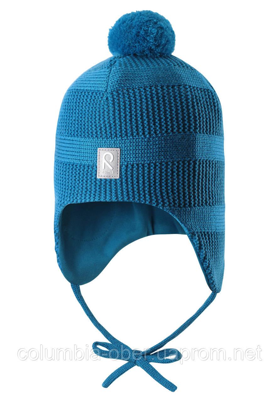 Зимняя шапка для мальчика Reima Kotka 518429-6490. Размер 48.