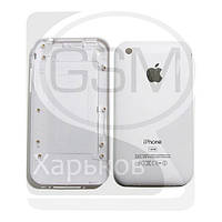 Задняя панель батареи (крышка аккумулятора) для APPLE iPHONE 3G 16 ГБ, белая, (качество AAA)