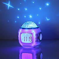 Часы проектор, 1038 часы, Часы электронные, Часы - проектор звездного ночного неба, Настольные часы светящиеся