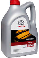 Масло Toyota 5w40 5л API: SM/CF ACEA: A3/B4