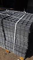 Сетка сварная, ячейка 100х100 мм., диаметр 4 мм., размер листа 1х2 м.,  черная