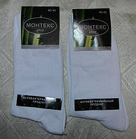 Носки мужские МОНТЕКС plus белый 12 шт упаковка р.40-45