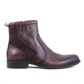 Ботинки кожаные m0021