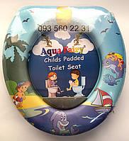 Мягкое сиденье-накладкадля унитаза Aqua Fairy