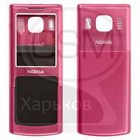 Корпус для NOKIA 6500 Classic, розовый, (качество AAA), РАСПРОДАЖА!