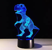 3D светильник Динозаврик,
