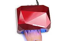 Лампа УФ +Led (Лед) гибрид 36 Ватт, лампа для сушки ногтей