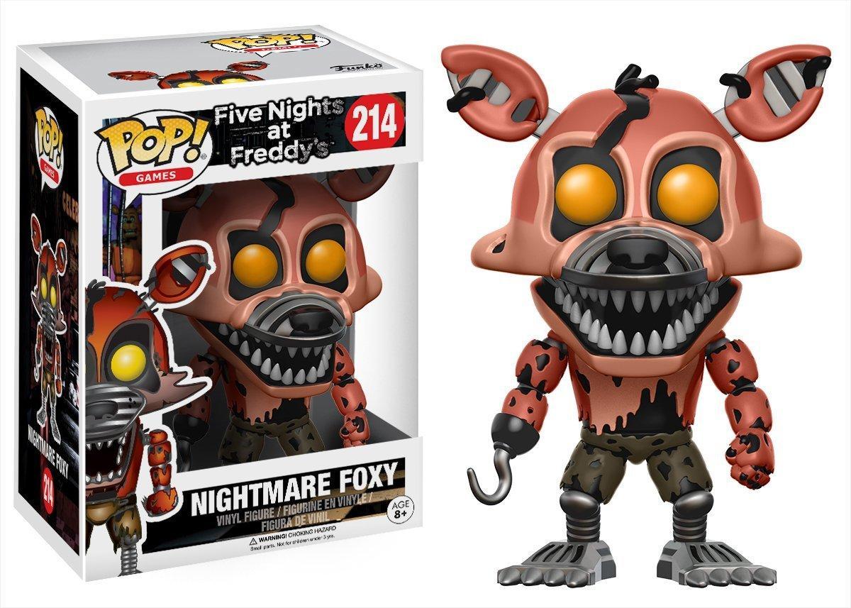 Фигурки 5 ночей с Фредди Nightmare Foxy Funko POP Games Five Nights at Freddy's