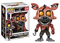 Фигурки 5 ночей с Фредди Nightmare Foxy Funko POP Games Five Nights at Freddy's, фото 1
