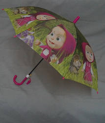 Детский зонтик Маша и медведь