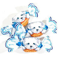 Шоколадные конфеты Собачки  российская фабрика Шоколадный кутюрье
