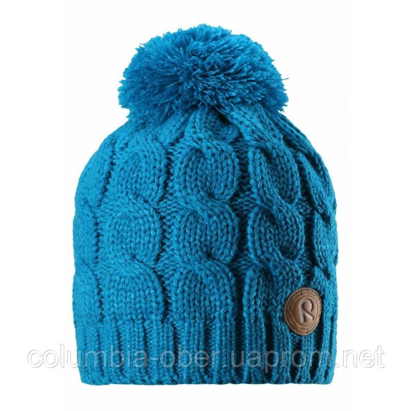 Зимняя шапка для девочки Reima Laavu 538025-6490. Размер 56.