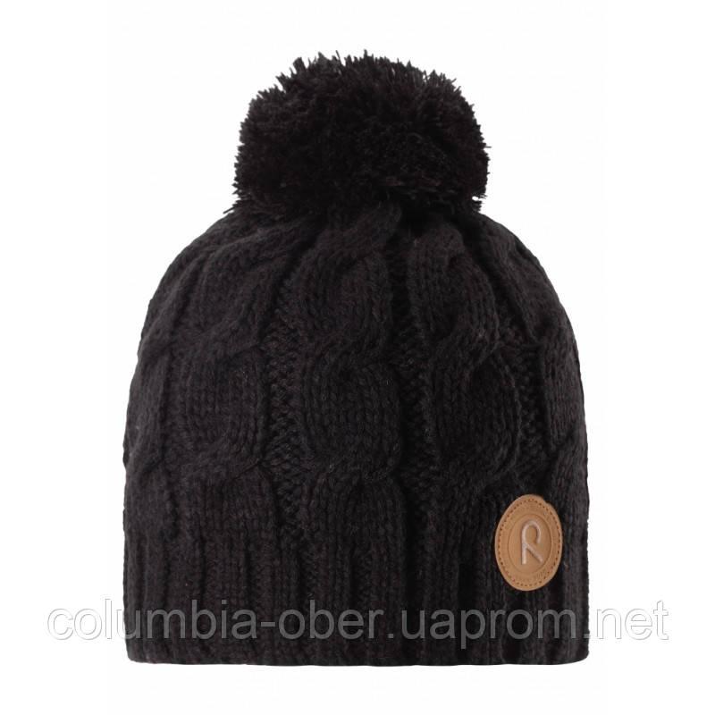 Зимняя шапка для мальчика Reima Laavu 538025-9990. Размер 52.