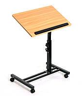 Прикроватный стол под ноутбук на колесиках NT23 Бук