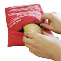 Мешочек для приготовления картофеля в микроволновой печи potato express, потейто экспресс (pouch for potato)