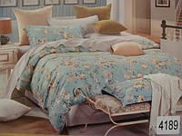 Сатиновое постельное белье полуторка ELWAY 4189