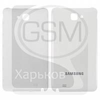 Задняя панель батареи (крышка аккумулятора) для SAMSUNG GT-i9220 Galaxy Note, GT-N7000 Galaxy Note, белая оригинальная (Китай), РАСПРОДАЖА!