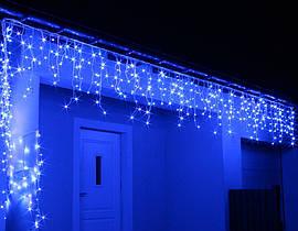 Новогодняя Гирлянда Дождь 288 LED 9 метров цвет желтый