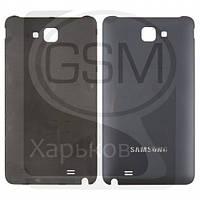 Задняя панель батареи (крышка аккумулятора) для SAMSUNG GT-i9220 Galaxy Note, GT-N7000 Galaxy Note, синяя оригинальная (Китай)