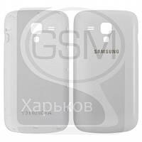 Задняя панель батареи (крышка аккумулятора) для SAMSUNG GT-S7562 Galaxy S Duos, белая оригинальная (Китай)
