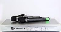Профессиональные микрофоны с приемником DM SH-80 SEMTONI, микрофон ручной semtoni, вокальная радиосистема