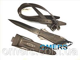 Нож Omer Maxi Laser для подводной охоты
