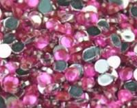 Стразы для ногтей 1,5 мм,1 грамм, розовые