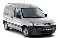 Кенгурятник Peugeot Partner (2004+)