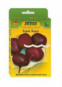 Семена на ленте свекла Бордо, фото 2