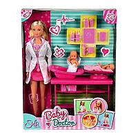 Sіmba Ігровий набір з лялькою Штеффі дитячий лікар 5732608, фото 1