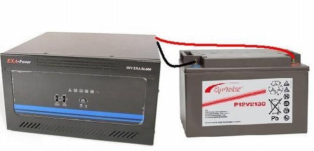 Преобразователь (инвертор) напряжения 12/220 INV EXA SL800 (640Вт) синус