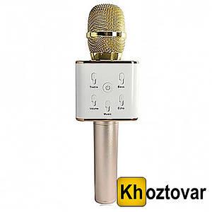 Бездротовий мікрофон-караоке Bluetooth Q7 MS