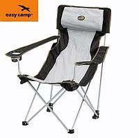 Кресло туристическое Easy Camp Hi-Back Chair Grey
