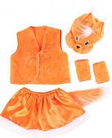 Детский карнавальный костюм для девочки Белка