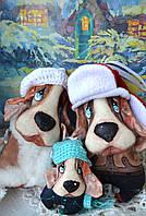 Собачки, новогодний набор, подвески