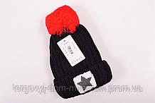 Шапка детская зимняя (цв.чёрный) 12559
