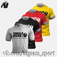 Футболка спортивная Gorilla wear, для бодибилдинга
