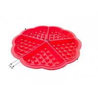 Силиконовая форма Сердце для венских вафель, фото 1