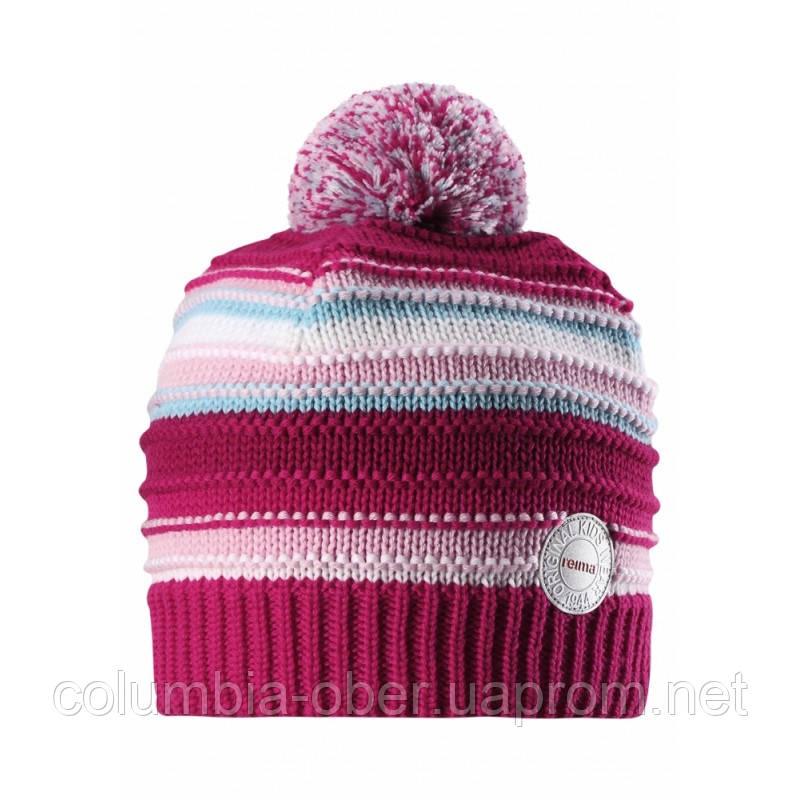 Зимняя шапка для девочки Reima 528553-3560. Размеры 50 - 56. , фото 1