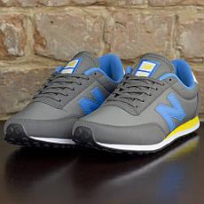 Кроссовки New Balance серо-голубые оригинал, фото 2