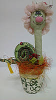 Дерево  счастья Тетушка Улитка в чепчике, фото 1
